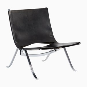 Minimalist Easy Chair by P. Fabricius and J. Kastholm, 1970s