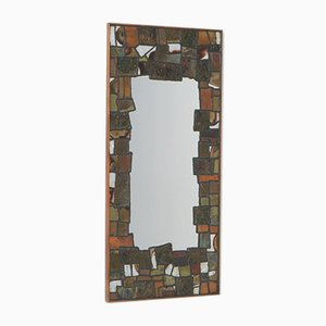 Decorative Metal Patchwork Mirror from Artemide, 1950s