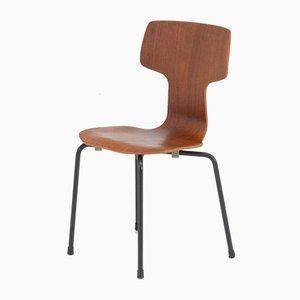 Children's Bent Plywood Chair by Arne Jacobsen for Fritz Hansen, 1960s
