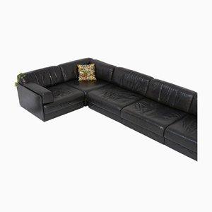 Modulares DS 76 Sofa aus Leder von de Sede, 1970er