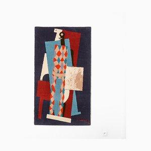 Tapisserie Murale Arlequin par Pablo Picasso pour Desso, 1990s