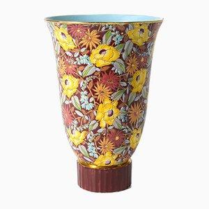 Große Nagako Vase von RH Chevalier für Boch Frères, 1940er