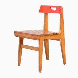 Chaise Rouge A par Lucien Engels, 1957
