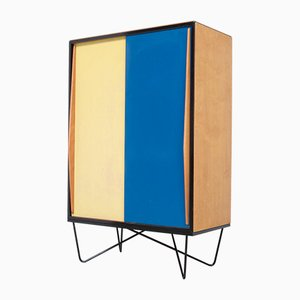 Special Wardrobe Cabinet by Willy Van Der Meeren for Tubax, 1950s