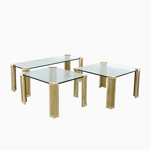 Tables Basses par Peter Ghyczy, 1970s, Set de 3