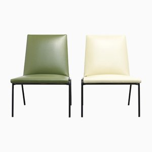 Robert Low Chair by Pierre Guariche for Meurop, 1960s