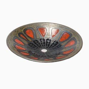 Keramik Schale von Perignem, 1960er