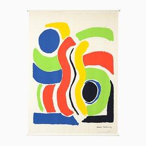 XL Druck auf Leinwand von Sonia Delaunay von Jacques Damase, 1992