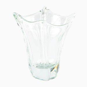 Französische Kristall Vase von Daum