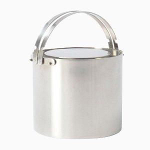Cylinda Line Ice Bucket by Arne Jacobsen for Stelton, 1950s