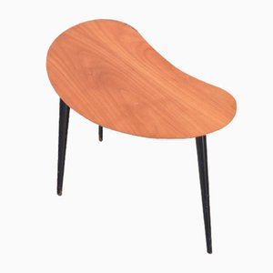 Small Kidney-Shaped Side Table by Alfred Hendrickx for Belform, 1950s