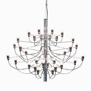 Chandelier 2097/30 by Gino Sarfatti for Arteluce
