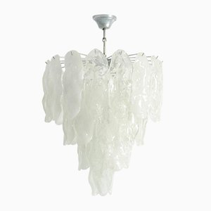 Murano Glass Fiamme Chandelier from Mazzega, 1970s