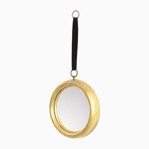 Round Gilt Mirror, 1960s