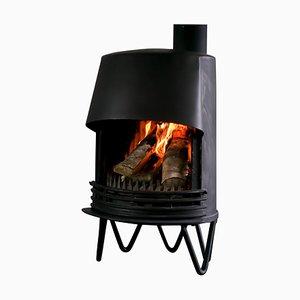 Tasso Danish Fireplace, 1950s