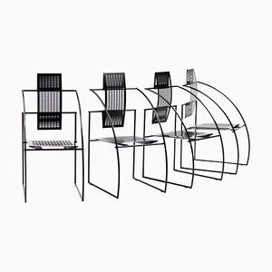 Quinta Stühle von Mario Botta, 1988, 4er Set