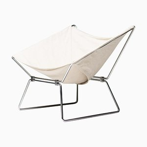 Canvas Lounge Chair by Pierre Paulin for AP Originals, 1954