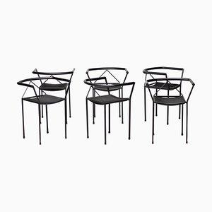 Poltroncina Stühle von Maurizio Peregalli, 1984, 6er Set