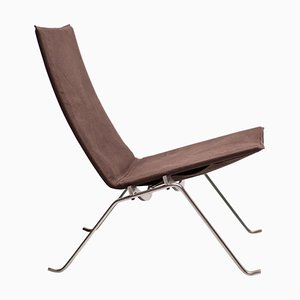 Lounge Chair PK22 in Canvas by Poul Kjaerholm, 2006