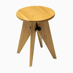 Solvay Stool by Jean Prouvé for Vitra