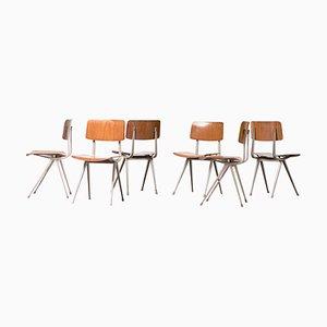 Result Stühle von Friso Kramer für Ahrend-De Cirkel, 1970er, 6er Set