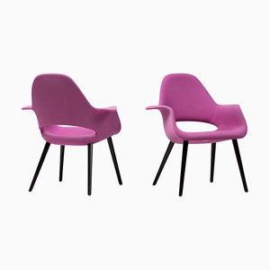 Organische Stühle von Charles Eames & Eero Saarinen, 2er Set