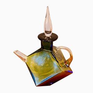 Glas Teekanne mit Graal Technik von Rolf Sinnemark