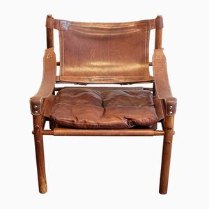 Rosewood Scirocco Safari Chair by Arne Norell, 1972