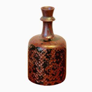 Vaso in ceramica di Stig Lindberg per Gustavsberg, anni '50