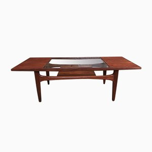 Vintage Teak and Glass Coffee Table from G-Plan