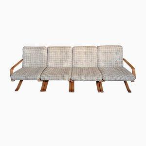 Dänisches 4-Sitzer Sofa von Ingmar Relling für Westnofa