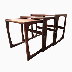 Nesting Tables with U-Shaped Legs