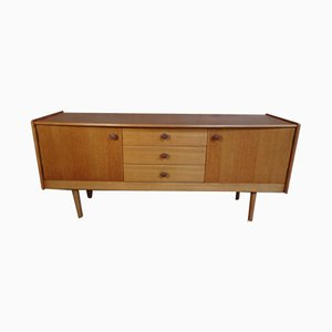 Vintage Oak Sideboard, 1950s