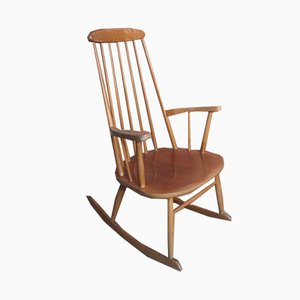 Minimalist Danish Rocking Chair