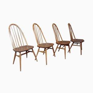 Quaker Stühle von Ercol, 4er Set