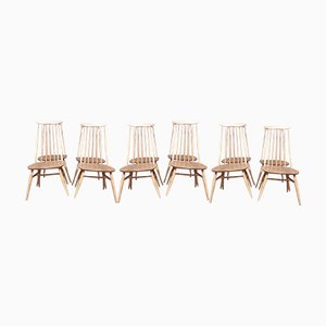 Windsor Goldsmith Chairs by Lucian Ercolani for Ercol, Set of 8