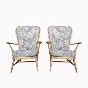 Fauteuils Fireside Blond Windsor Grandfather Easy Chair de Ecrol
