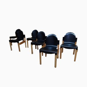 The Flex Chairs by Gert de Lange for Thornet, 1975, Set of 6