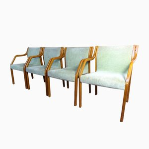 Armchairs by Preben Fabricius for Knoll International, 1960s, Set of 4