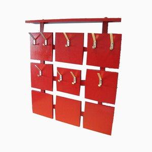 Rote Garderobe, 1960er