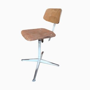 Industrieller Vintage Stuhl aus Metall