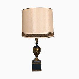 Französische Vintage Tischlampe im Empire Stil, 1970er