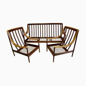 Antimott Sofa und Stühle Set von Walter Knoll für Walter Knoll / Wilhelm Knoll, 1960er, 3er Set
