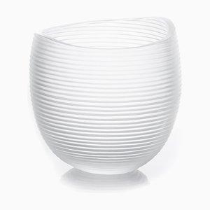 Große Linae Vase von Federico Peri für Purho Murano