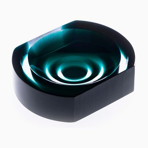 Iride Cut Ashtray by Federico Peri for Purho Murano