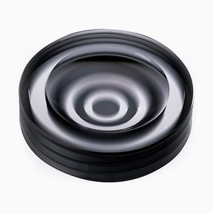 Iride Plissé Ashtray by Federico Peri for Purho Murano