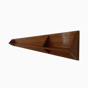 Large Mid-Century Danish Teak Shelf, 1960s