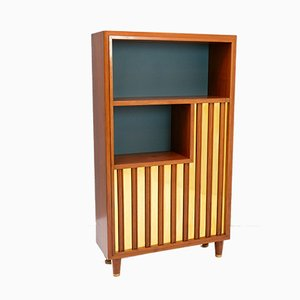 Swedish Modern Sideboard with Relief Front, 1940s