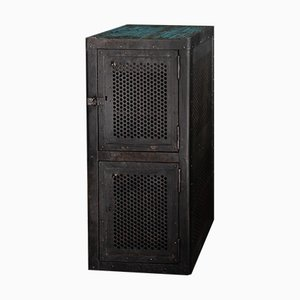 Vintage Industrial German Factory Cabinet, 1920s