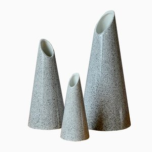 Vasen, 1980er, 3er Set